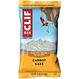CLIF BAR - Energy Bars - Carrot Cake - (2.4 Ounce Protein Bars, 12 Count) (Packaging May Vary)