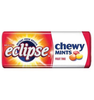 Wrigley Eclipse Chewy Mint Fruit Trio x 20