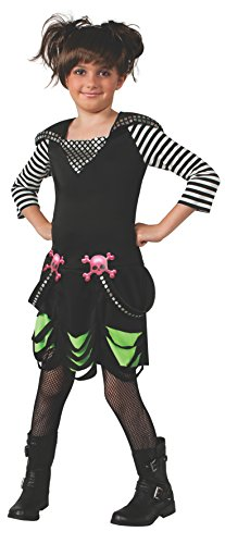 Gothic Ballerina Costumes (Rubies Goth Rock Costume Dress, Small)