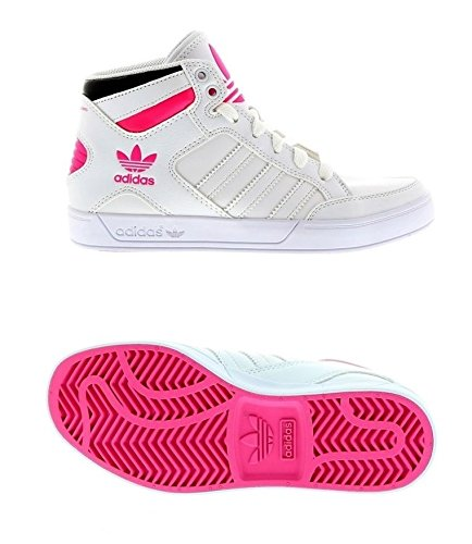 White Trainers Hi Adidas K Sneaker Mädchen Pink Schuhe Hard Court dBWQrCxoe