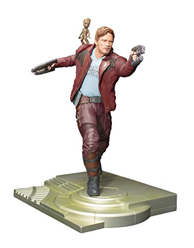 Entertainment Earth Guardians Galaxy Vol. 2 Star-Lord with Groot ArtFX Statue