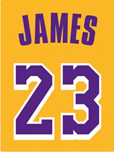 the best attitude 026dc 56e35 Amazon.com: FATHEAD Lebron James Los Angeles Lakers Jersey ...