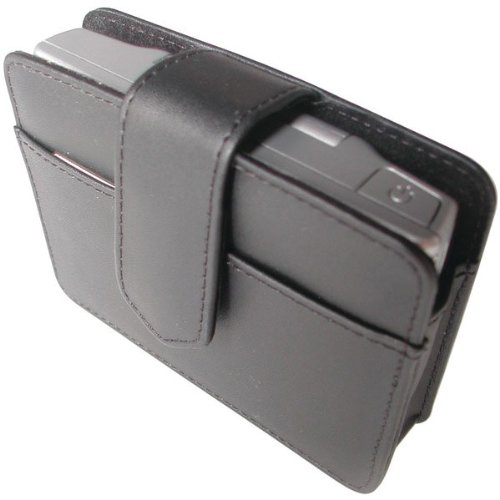 Gilsson 4.3-Inch Leather Case for (Garmin Nuvi 760 Carrying Case)
