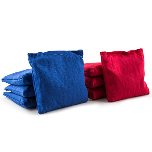 Tailgate Toss Bean Bag (Can't Stop Party Supplies Set of 8 Regulation Size 6