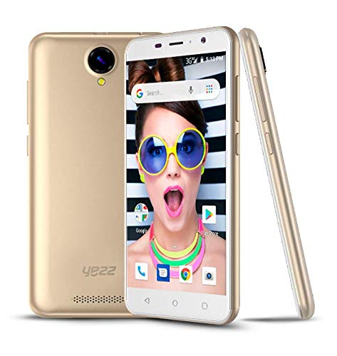 Amazon com: New YEZZ 5E White/Gold – Unlocked Smartphone
