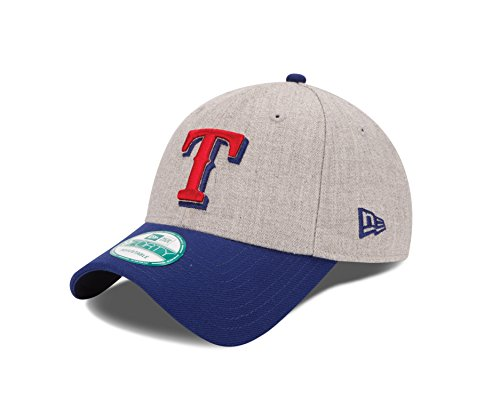 fan products of MLB Texas Rangers The League Heather 9Forty Adjustable Cap, One Size, Heather
