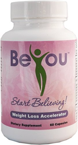 BeYOU Weight Loss Accelerator - 60 Capsules - Best Diet Pills for Women that Works Fast by BeYOU Naturals by BeYOU Naturals