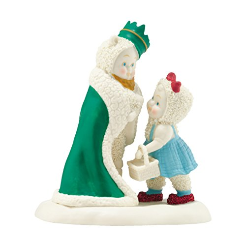 Snowbabies Department 56 Snowbabies Guest Collection King of The Forest Figurine, 4.06-Inch