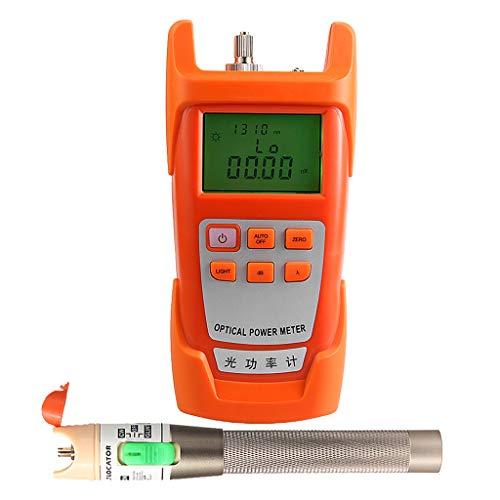 SM SunniMix AUA-9C -70dBm~+10dBm 850~1625nm Optical Power Meter Tester FC SC Handheld Optical Power Meter + with 30mW Visual Fault Locator Pen by SM SunniMix (Image #5)