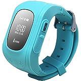 Kiddy Watch 60001 Watch mit GPS Lokalisierung hellblau