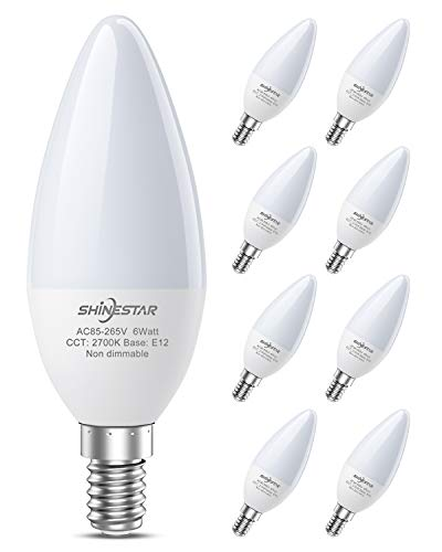 8-Pack E12 LED Bulbs