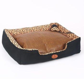 1209020CM KAI Dog Mat Dog Beds Cat Beds Leopard cat dog washable pet nest,1209020CM