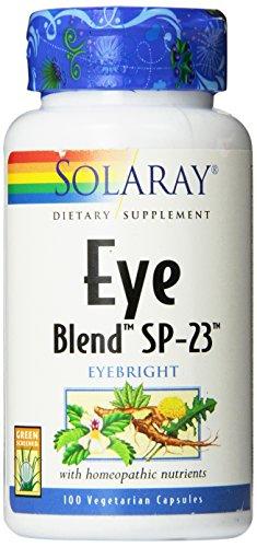 Solaray Eye Blend SP-23 Capsules, 100 Count - Solaray Eye