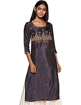 Aurelia Women's Regular Kurta
