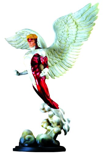 Cyclops And Jean Grey Costumes (X-Men Angel Statue (Red Costume Version))