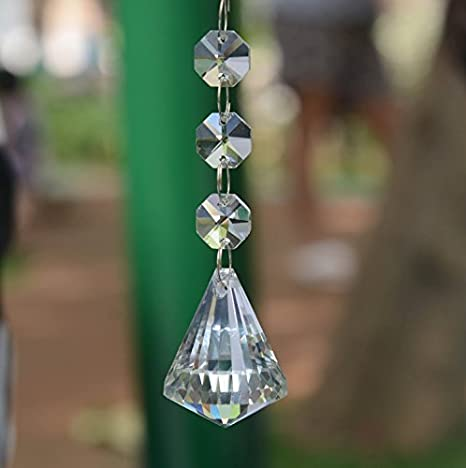 Moooni Crystal Glass Ball Chandelier Prisms Pendant Replacement