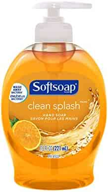 Softsoap Liquid Hand Soap, Clean Splash - 7.5 fluid ounce