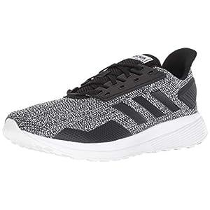 adidas Men's Duramo 9 Running Shoe Core Black/Footwear White, 10.5 M US