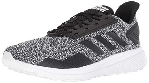 adidas Men's Duramo 9 Running Shoe Core Black/Footwear White, 12 M US