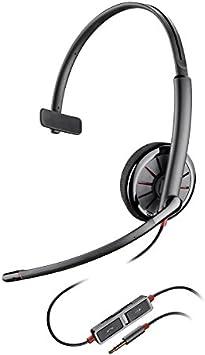 Plantronics 936407 - Auricular de Diadema Abierto (3.5 mm, micrófono, Control Remoto Integrado) Color Negro