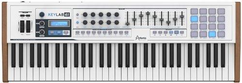 ARTURIA MIDIコントローラー KEYLAB 61 ソフトウェアシンセサイザー付属 B00D8WLL3C