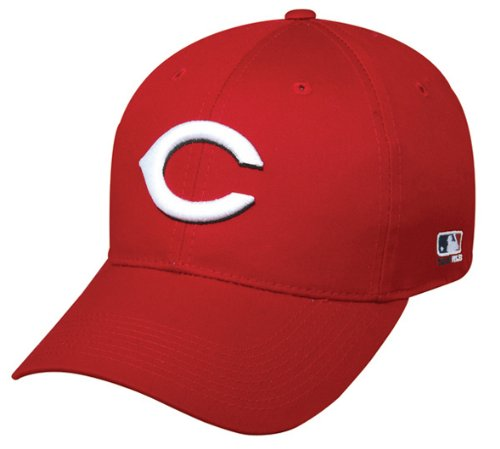 Cincinnati Reds ADULT Adjustable Hat MLB Officially Licensed Major League Baseball Replica Ball Cap