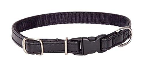 Dingo Plastic Clasped Dog Collar, 1.6 x 38 cm, Red
