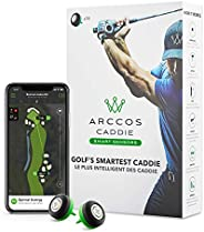Arccos Caddie Smart Sensors Featuring Golf's First-Ever A.I. Powered GPS Rangefinder