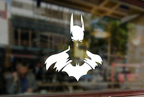 25cm Batman DC Vinyl Stickers Funny Decals Bumper Car Auto Computer Laptop Wall Window Glass Skateboard Snowboard ()