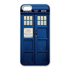 Doctor Who blue police box Cell Phone Case for iPhone 5S