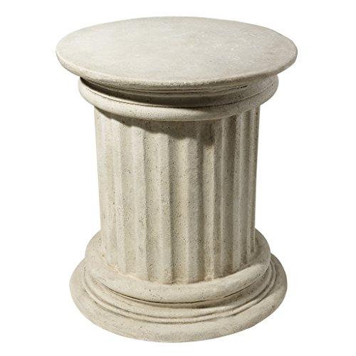 Design Toscano Roman Corinthian Capital Architectural Pedestal by Design Toscano