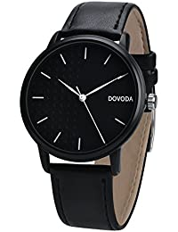 Watches for Men Casual Classy Quartz Analog Leather Watch
