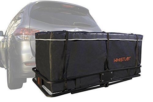Whistler Hitch bag - 100% Waterproof Large Hitch Tray Cargo carrier bag 59' x 24' x 24' (20 Cu Ft) + Storage Bag