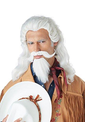 Mrs Doubtfire Costumes Amazon - California Costumes Men's Buffalo Bill Wig,