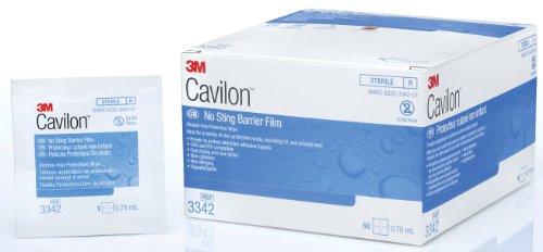 - MCK33442100 - Barrier Film Cavilon 1.0 Milliliter Wipe, Sterile, No Alcohol, No Sting - Box of 30