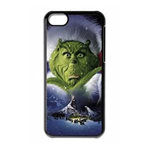 The Grinch Christmas iPhone 5c Cell Phone Case Black DIY GIFT pp001_8113844