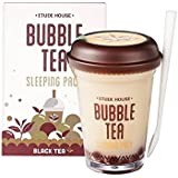 Etude House Bubble Tea Sleeping Pack (100g) (Black Tea)