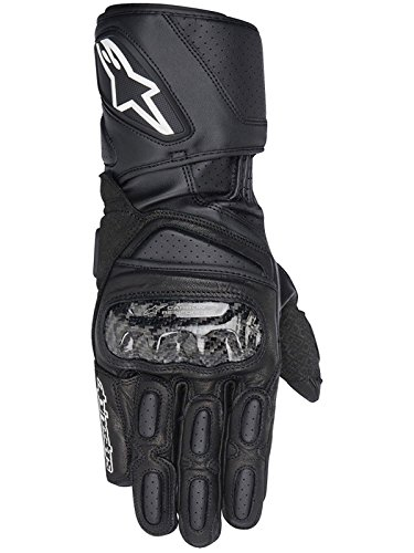 Alpinestars SP-2 Men's Leather Road Race Motorcycle Gloves - Black / Large Alpinestars Scheme Kevlar Gloves