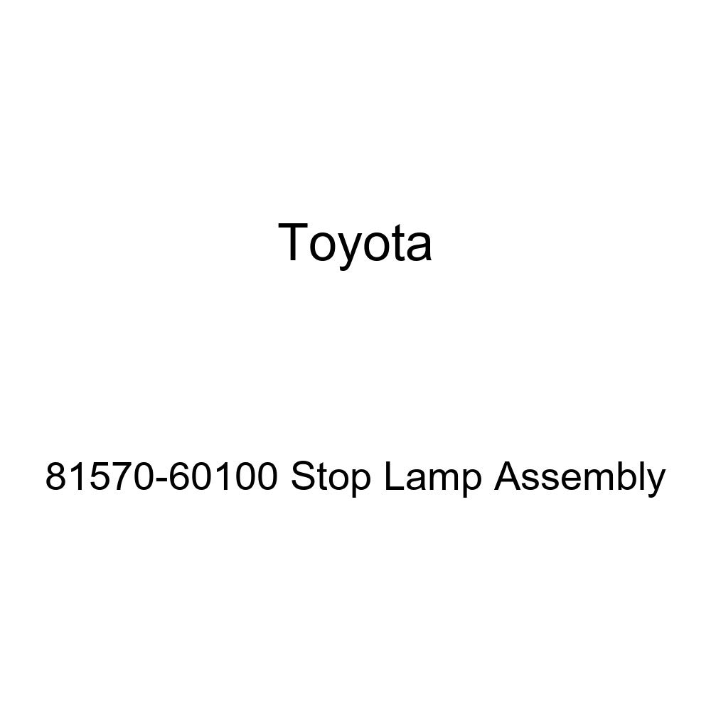 Genuine Toyota 81570-60100 Stop Lamp Assembly