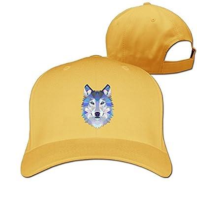 Wolf Designer Trucker Cap Peaked Hat Unisex Baseball Hats