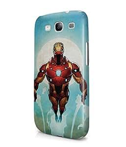 Iron Man Comics Tony Stark The Avengers Superhero Plastic Snap-On Case Cover Shell For Samsung Galaxy S3