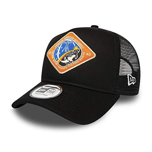 New Era ISA X STS-40 A Frame Adjustable Trucker Cap - One Size Black