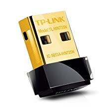 TP-Link TL-WN725N Wireless N Nano USB Adapter, 150Mbps, Miniature Design, Plug in and Forget