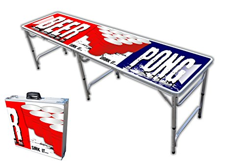 8 foot professional beer pong table w triangles over 30 for 12 foot craps table for sale