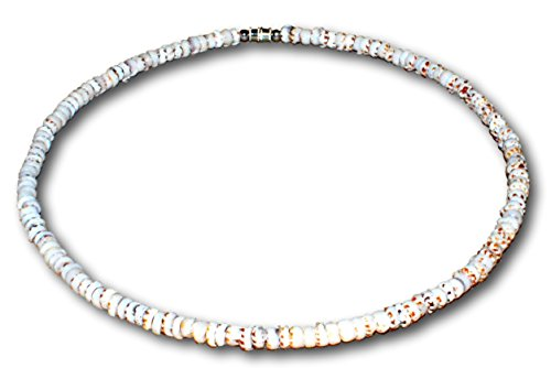 Tiger Puka Shell Necklace - 1
