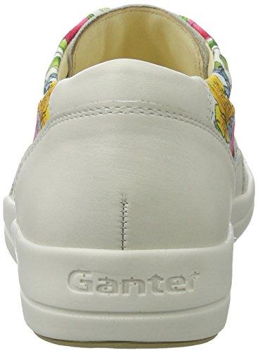 Ganter Giulietta-g, Scarpe da Ginnastica Donna Mehrfarbig (Weiss/Multi)