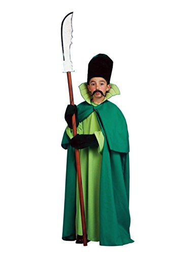 [Emerald City Guard Child Halloween Costume Size 4-6 Small] (Kids Green Guard Costumes)