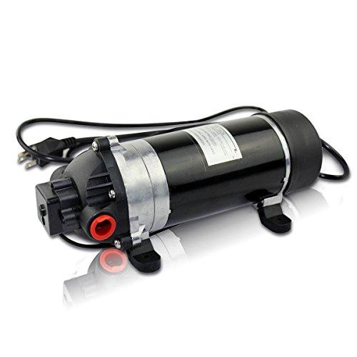 (BACOENG 160PSI High Pressure Water Diaphragm Pump, Misting Booster Pump Sprayer for Caravan/RV/Boat/Marine)