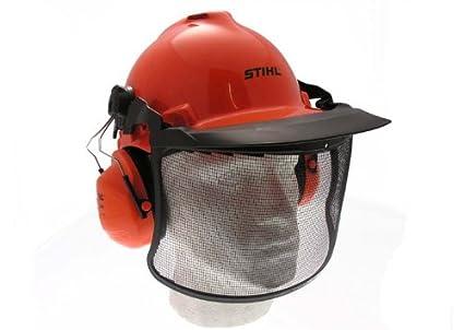 Stihl - Juego de casco con protectores de oídos y visera ...