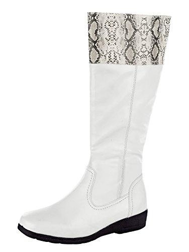 Weiß amp;Mathilda aus Weichem Stiefel Softmaterial Schlange Mae nZTq6wa7OT